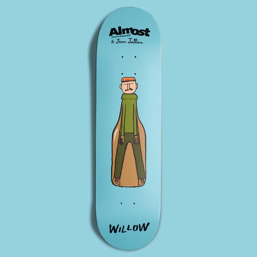 Almost Skateboards – Jean Jullien Studio